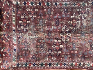 Antique Yomut  in used condition.Cm.160x292