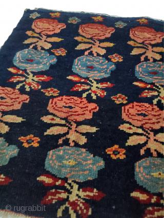 "Beautiful Caucasian yazdik size rug.  Origin: Caucasian; Circa: 1900 Size: 1'5"" x 1'8""; Style #: 60068"
