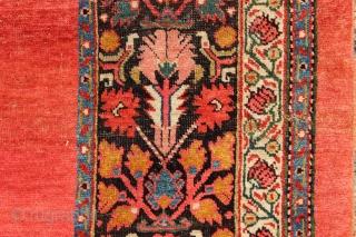 """Fine antique Bidjar Kelleh, 5'7"""" x 11'9"""" / 171 x 358cm"""