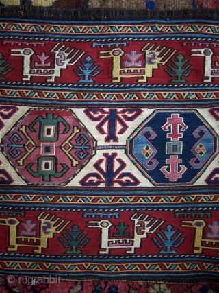 Shahsavan mafrash side panel.  Great colors and abrash.  In great condition.  Please check out my other listings.