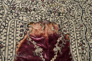 Very Rare type of Ottoman period Balkan ( Bosnian Banja Luka ) circa 1800 Prayer Aplique