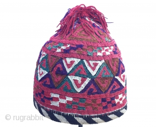 Hat from CentralAsia (Turkmen)