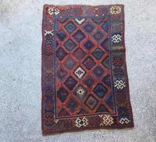 "East Anatolian Kurdish Rug,19th Century Size:177x118cm / 5'11""x3'1""/ 71x 46inches"