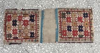 Shahsavan saddle bag 19th century size:67 X 25CM/ 26 X 10 inc.