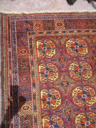 Baluch Rug with great colors wool and design,good condition and fine weave.E.mail for more info.