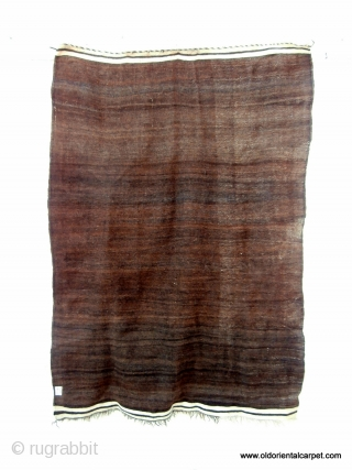 MOROCCAN HIGH ATLAS BERBER HANDIRA OR CAPE. Because of the intense winter cold woollen capes are extensively used by men and women in the mountain ranges. The warps or foundation threads are  ...