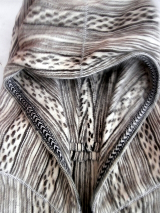 DO NOT BE COLD THIS WINTER.  MOROCCAN BERBER MAN'S CAPE. Hand woven from undyed, hand spun wool. This is the work of Berbers in the region of Marmoucher in the Middle Atlas mountains  ...