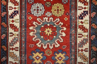 Middle Of The 19th Century Schirvan Kuba Rug 87 x 155 cm