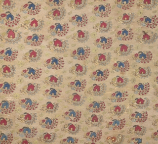 Early 18th Century Ottoman Embroidery Size 132 x 216 cm It's in good condition