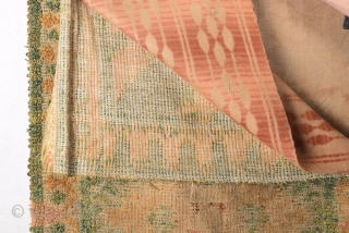 17th Century Spanish Rug Really Unusual Size 60 x 130 Cm