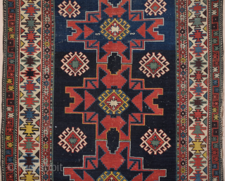 19th Century Schirvan Kuba Rug 125 x 180 cm