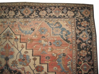 "Serapi Heriz Persian circa 1895 antique. Collector's item, Size: 560 x 360 (cm) 18' 4"" x 11' 10""  carpet ID: P-1875