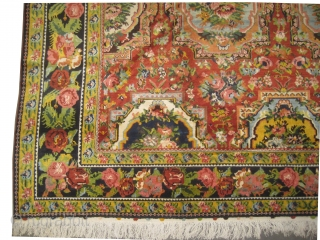 "Paradoumbe Baktiar Persian circa 1920 semi antique. Size: 465 x 322 (cm) 15' 3"" x 10' 7""  carpet ID: P-3610