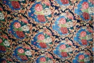 "Senneh Kurdistan Persian, over size carept, circa 1920 Semi antique, Size: 752 x 394 (cm) 24' 8"" x 12' 11""   carpet ID: P-4789 High pile, in excellent condition, all over Gull-frenk design  ..."