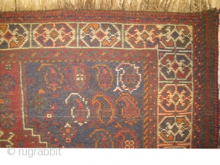 Shiraz Persian, circa 1915 antique, size: 88 x 146 cm,  carpet ID: BDI-9 The black color is oxidized, the knots are hand spun wool, the warp and the weft threads are 100%  ...