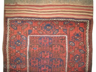 "Belutch Persian circa 1900 antique. Collector's item. Size: 129 x 90 (cm) 4' 3"" x 2' 11""  carpet ID: E-453