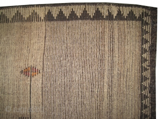 "Gabbeh Nomad Persian, circa 1910 antique. Collector's item, Size: 272 x 133 (cm) 8' 11"" x 4' 4""  carpet ID: K-4162