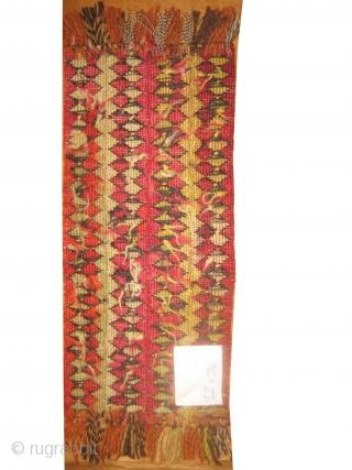 Sumak Caucasian, woven circa in 1915 antique, 13 x 30 cm. Article No: MMM-60 In good condition, woven with sumak technique.