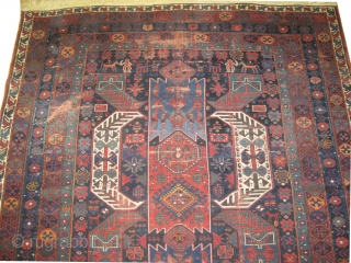 "Goradis Kazak Caucasian, dated 1312 = 1894 antique, collectors item. 580 x 250 (cm) 19'  x 8' 2""  carpet ID: P-6192