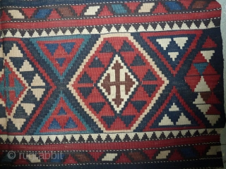 Fine shirvan kilim, good colours and condition