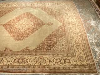 Antique persian Tabriz hajji jalili 9.2x12.4 No dry rot no damages no repairs all original