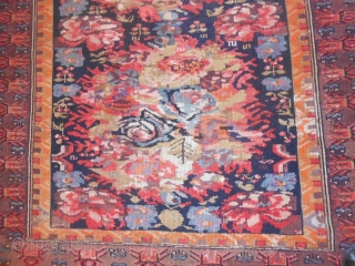 This CAUCASUS piece has been dated 1325/moon = Gregorian calendar 1908. Perfect condition. Gol-farangh design for this antique ZEIKHUR carpet. Wool on wool.  Other info or photos on request. Greeting from Como-lake !