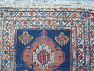 Soumach CAUCASUS in perfect condition with great colors.