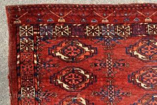 Tekke Turkmen chuval - 3'9 x 2'2 - 114 x 66 cm.