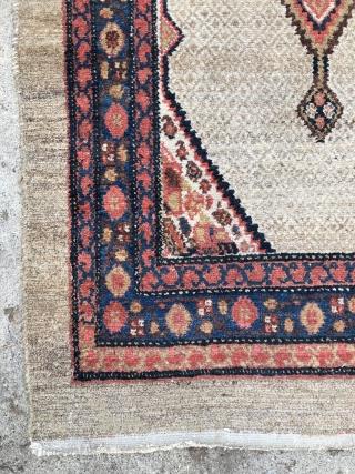 Northwest Persian Hamadan/Malayer Kurdish Runner Rug - 3'6 x 13'6 / 110 x 415 cm.