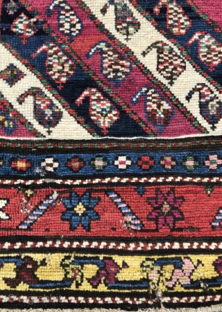 Caucasian Karabagh Prayer rug - 2'9 x 4'7 - 84 x 140 cm.