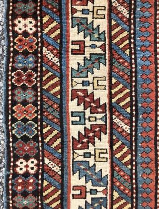 Fine Caucasian Kuba rug in mint condition  - 3'8 x 5'0 - 112 x 150 cm.