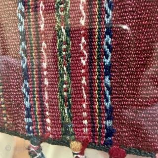 Coca Bag - Aymara chuspa, Bolivia - 19th c.  - Exhibiting at ARTS San Francisco next month. 18 - 20 Oct. - more info - http://artsrugshow.net