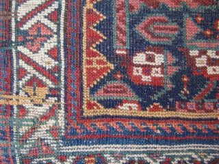 "Northwest Persian Kurdish bagface - 25"" x 26"" - 63 x 66 cm."
