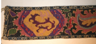 """Here is an elegant old Shakhrysabs belt from the 19th. century.       Measuring 30"""" long and  ..."""
