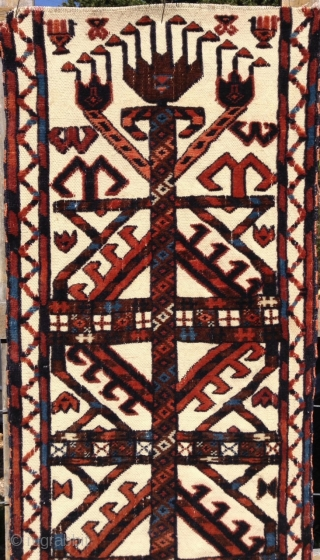 Beautiful 19th. century CHODOR TURKOMAN tent band