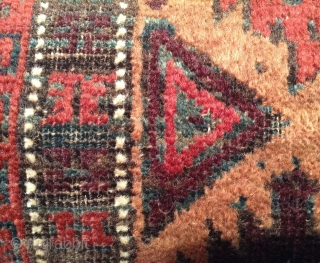 Just in time - a Christmas Baluch balisht with real Christmas colors. 