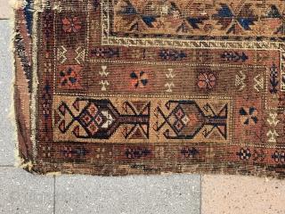Cute Baluch prayer rug , size : 130x80cm , price : 500 euro + Shipping from Paris ...