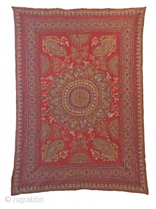 Persian, Kirman embroidery 205x144 cm