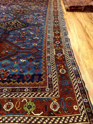 Old Neyris  all Vegetable dyes very good condition th19 size  360x230