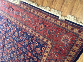 Old Tabriz .good condition .size 600x395