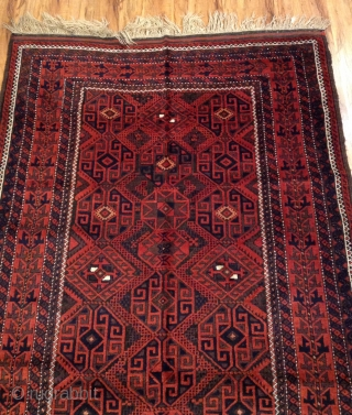 Antique Beluch vegetable colors and vrey good condition size 225x120