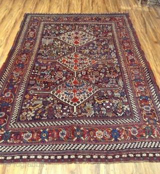 Antique Khamseh good condition . Size 225 x155