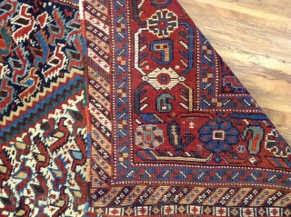 Antique Khamseh  very good condition  size .200x135