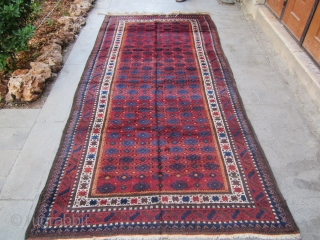 Old Baluch. th19 . full pile good condition.size 285x133