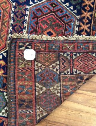 Antique Jeff Kurdish excellent condition . Size. 255x145