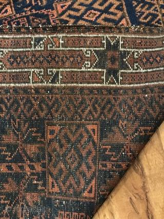 Antique Baluch Bagface size 77x82