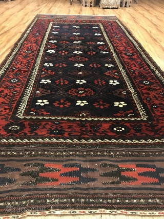 Antique Baluch Natural Colors and very good condition  Size 280x120