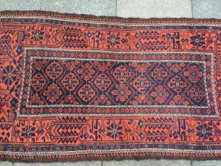 Very nice antique Baluch rug, size: ca. 170x87cm / 5'6''ft x 2'9''ft