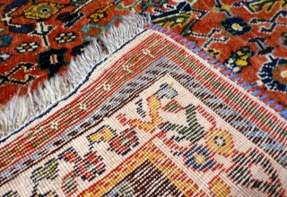 A fantastic Kashkuli rug with Herati pattern, Southern Iran. It has everything one expects from a Kashkuli rug: thight weave, great range of colours including light and dark blue, and mustards. 240x160  ...