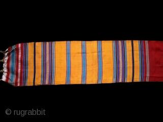 Tunisian silk sash cod. 0547.